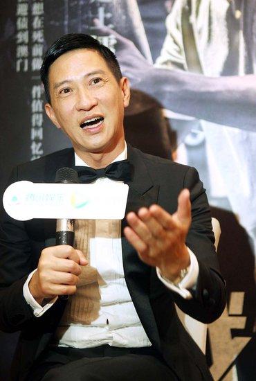 专访影帝张家辉:为《激战》断送一根手指不后悔