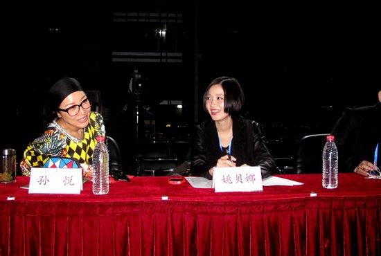 青歌赛冠军华丽回归 姚贝娜成史上最年轻评委