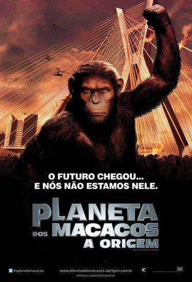 《猩球崛起》28日进军内地 智慧猿族决战人类