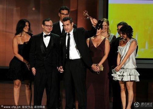 《摩登家庭》获第62届艾美奖喜剧类最佳剧集奖