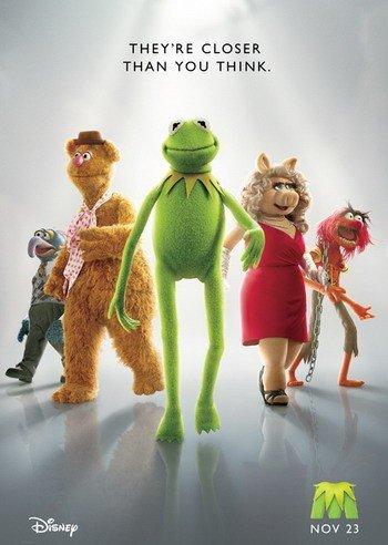《布偶》公布首款海报 科米蛙猪小姐登台亮相