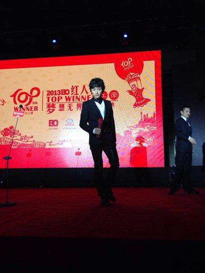 """陈晓2013年再创高峰 喜获""""当红人气偶像奖"""""""