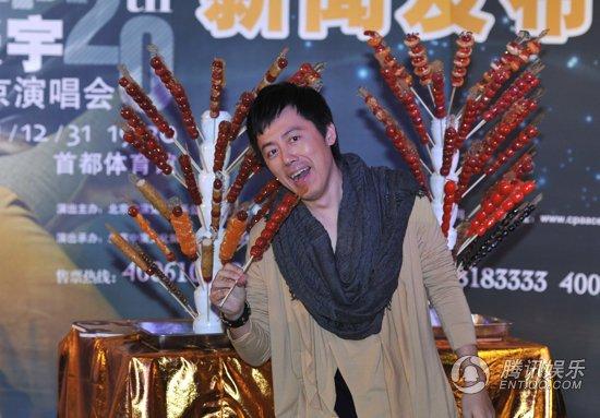 专访张宇:以前得失心太重 跨年开唱是市场需要