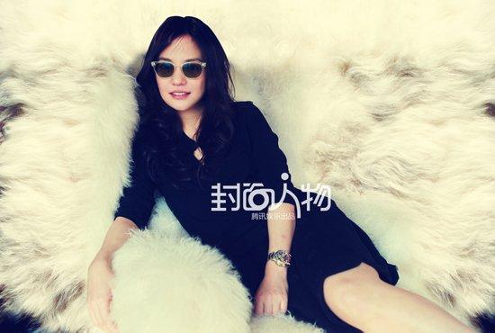 封面人物赵薇:我正青春,年纪大点儿再做玉女