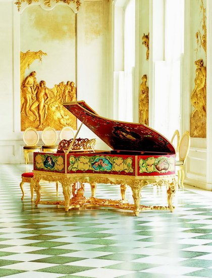 史上最贵钢琴亮相沪上图片
