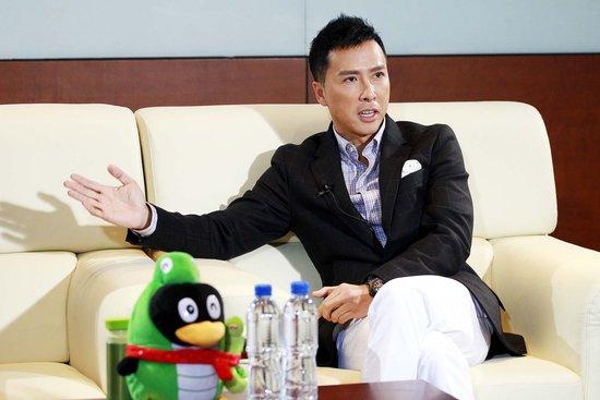 《特殊身份》做客 甄子丹谈与赵文卓纷争称可耻