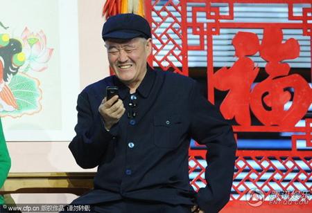 赵本山宣布小品未达预期 退出央视蛇年春晚