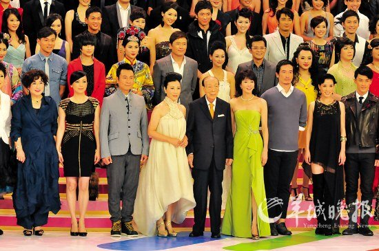 """TVB43周年台庆亮灯 邓萃雯蝉联""""视后""""呼声高"""