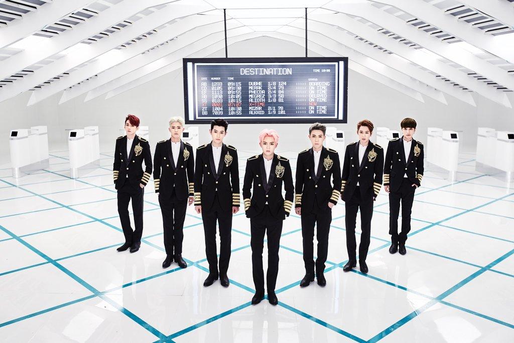 X-TIME首张EP上线 七子合体召唤新成员