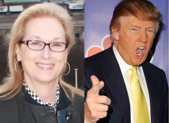特朗普回击斯特里普 称梅姨:最名过其实的演员