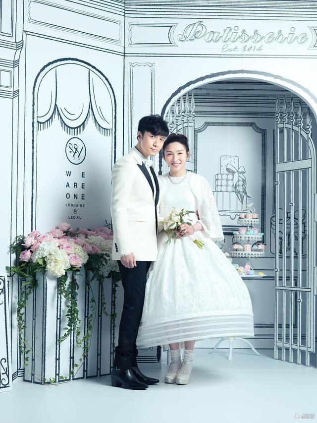 古巨基婚礼太太感动流泪伴郎刘翔自嘲被虐-