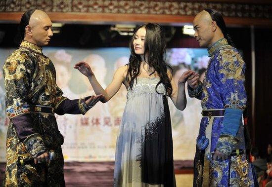 吴奇隆为《步步惊心》吟诗 雍正上身转型文艺男