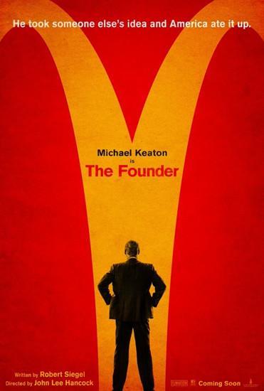 麦当劳传记片《创始人》开拍 经典Logo变叉路