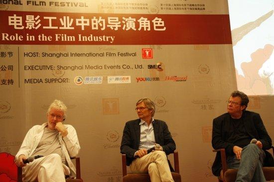 电影大师班第三场:电影工业中的导演角色