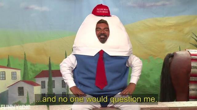 美著名喜剧演员调侃总统候选人唐纳德·特朗普