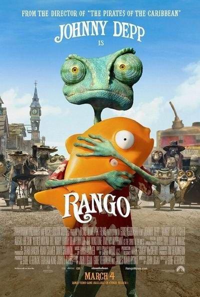 北美票房:动画大片《兰戈》夺冠 票房未达预期