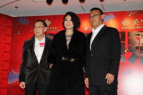 《让子弹飞》内地票房破六亿 林青霞大赞姜文