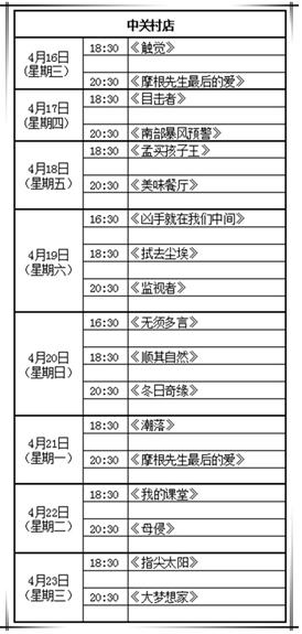 北京金逸影城携手第四届北京国际电影节