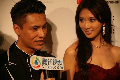 上海国际电影节红毯专访《上海进行时》剧组