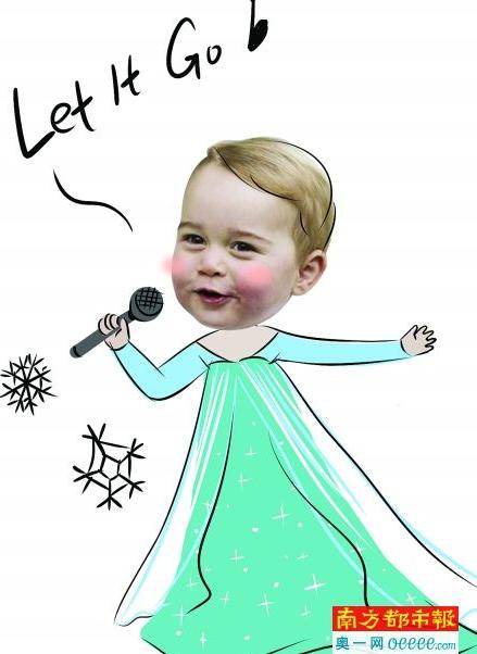 英王室漫画揭秘皇家:凯特王妃爱跳保镖舞人有的喜欢钢管图片