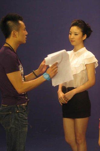 北京卫视拍《红楼梦》宣传片 蔡飞雨打造新形象