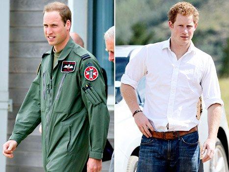 威廉王子驾直升机救援被困夫妇 哈里王子非洲献爱心