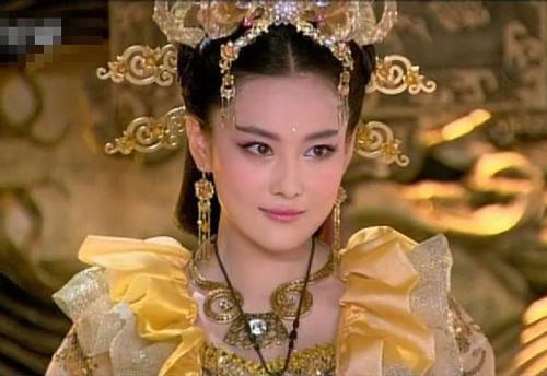林心如版的妲己已不是狐妖,而是贤妻良母.图片