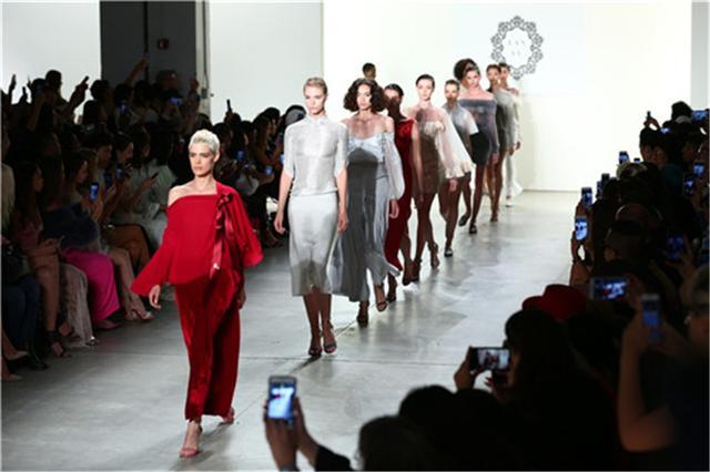 LANYU 2018春夏高级成衣秀亮相纽约时装周 再续红楼梦