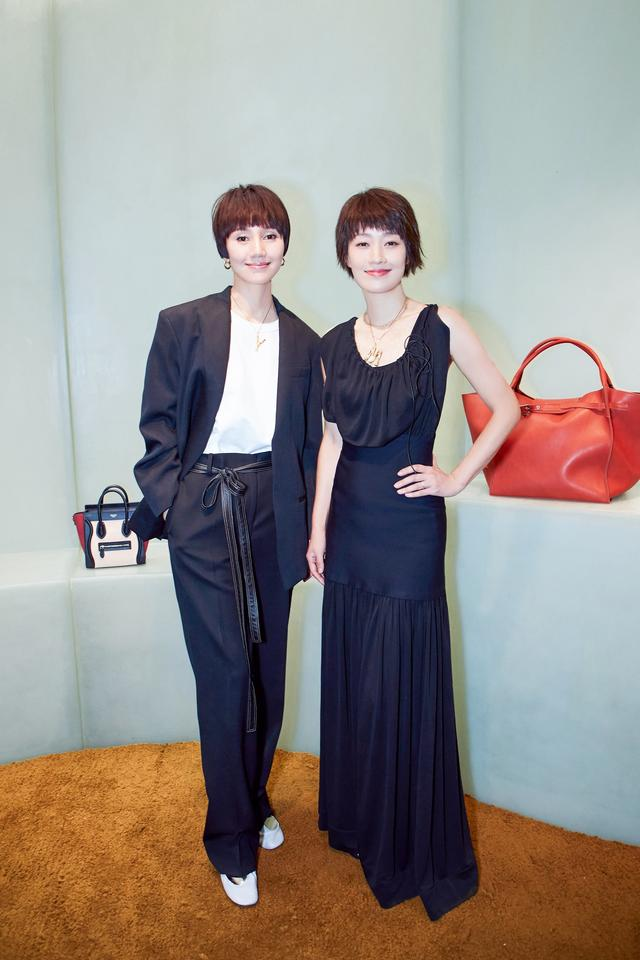 """""""前半生""""姐妹花袁泉&马伊琍因CELINE再度合体。还给我们种草了最新款美包。"""