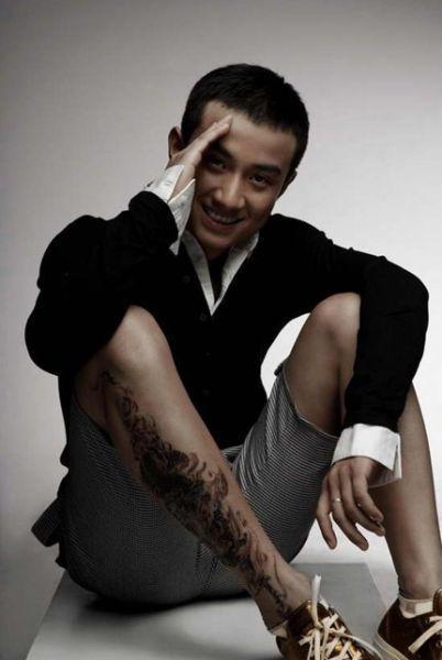 文章的好男人纹身