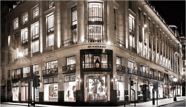 Burberry咖啡店伦敦开业 买不起衣裳来喝杯咖啡(组图)