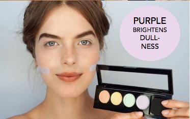 """用""""五颜六色""""对抗肌肤暗沉和痘痘,这样的底妆真是不得了!"""