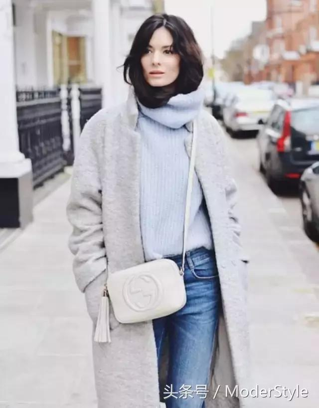 如何用这几款毛衣来承包这个冬季的温暖与时髦!美成一道街景!