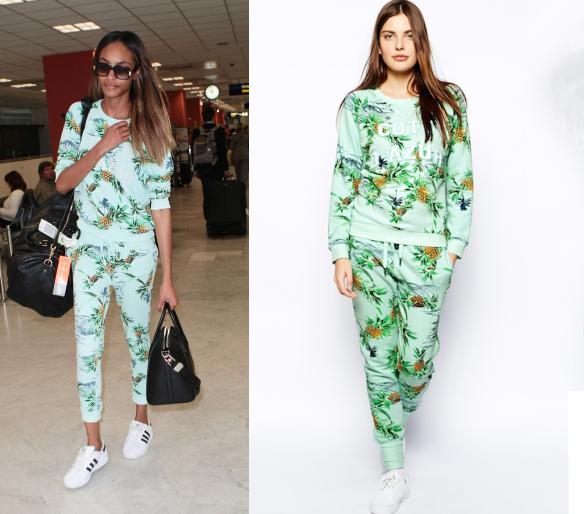 穿衣榜:当菠萝遇上夏天 当蕾哈娜撞衫超模