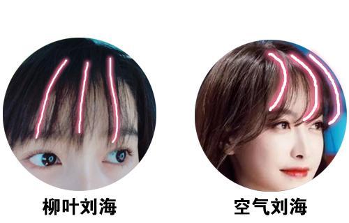 """八公举:剪了热巴的""""柳叶刘海""""后,男朋友夸我比打苹果肌效果好"""