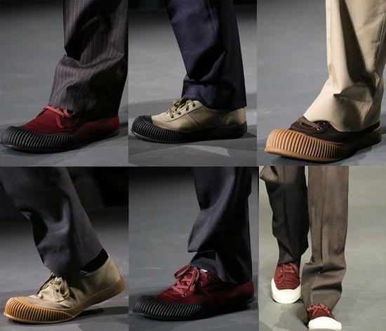 文艺男横扫米兰男装周 Prada向解放鞋致敬?