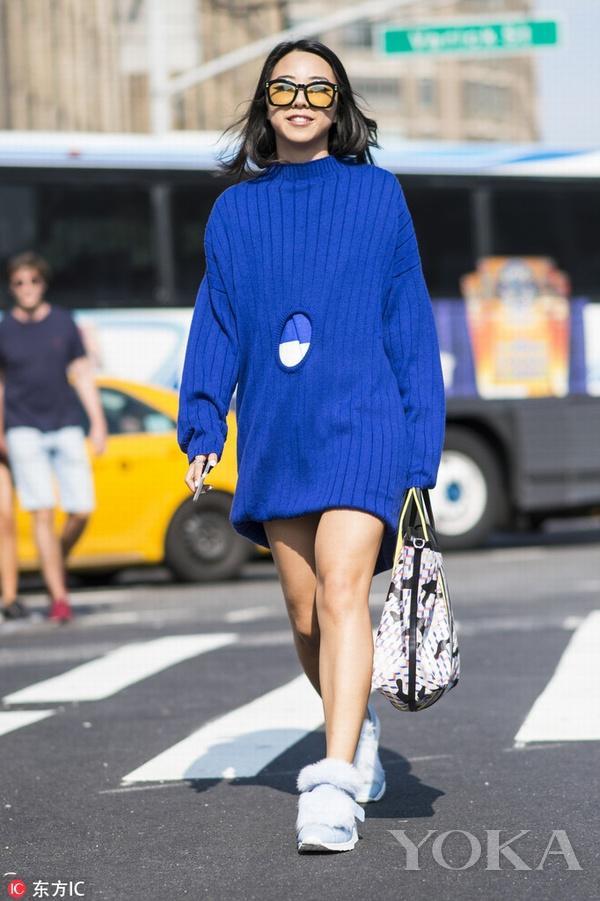 爱裙女士必入 秋冬穿这些毛衣裙美得惊人!