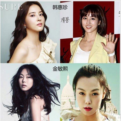 韩国频爆大牌情侣 减龄发型拿下众男神