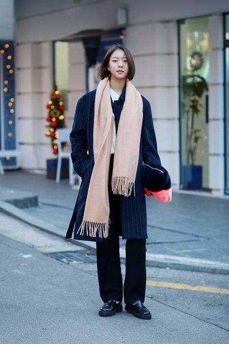 围观思密达国型男美女们的冬日穿搭术