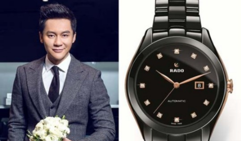 Why say Li Chen is a high-rich handsome one million replica designer watches to prove