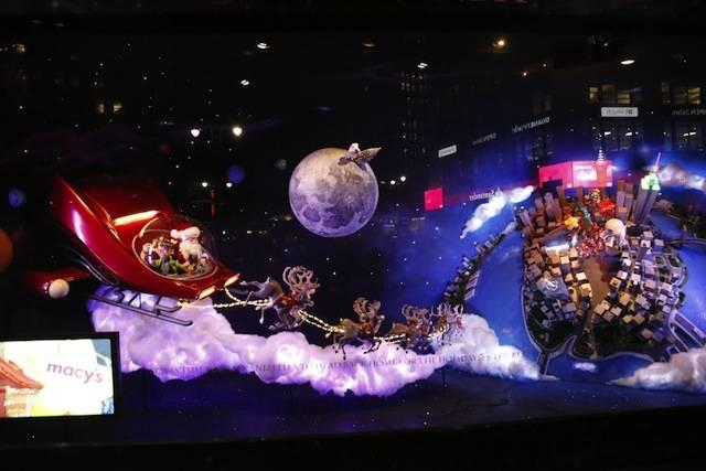 macy's 百货:圣诞老人的星际之旅