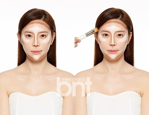 韩国人的修容技术真不是盖的 美丽脸型不动刀