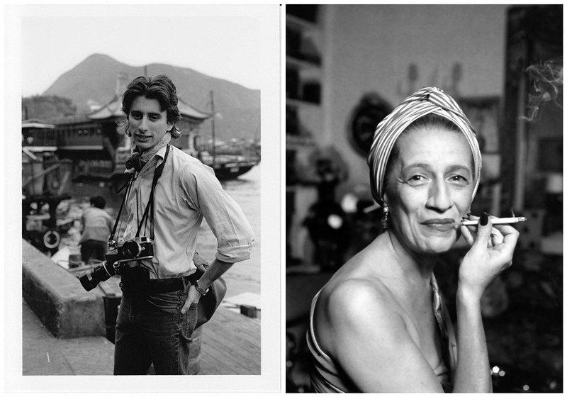 左:年轻时的Nicholas Vreeland;右:其祖母Diana Vreeland