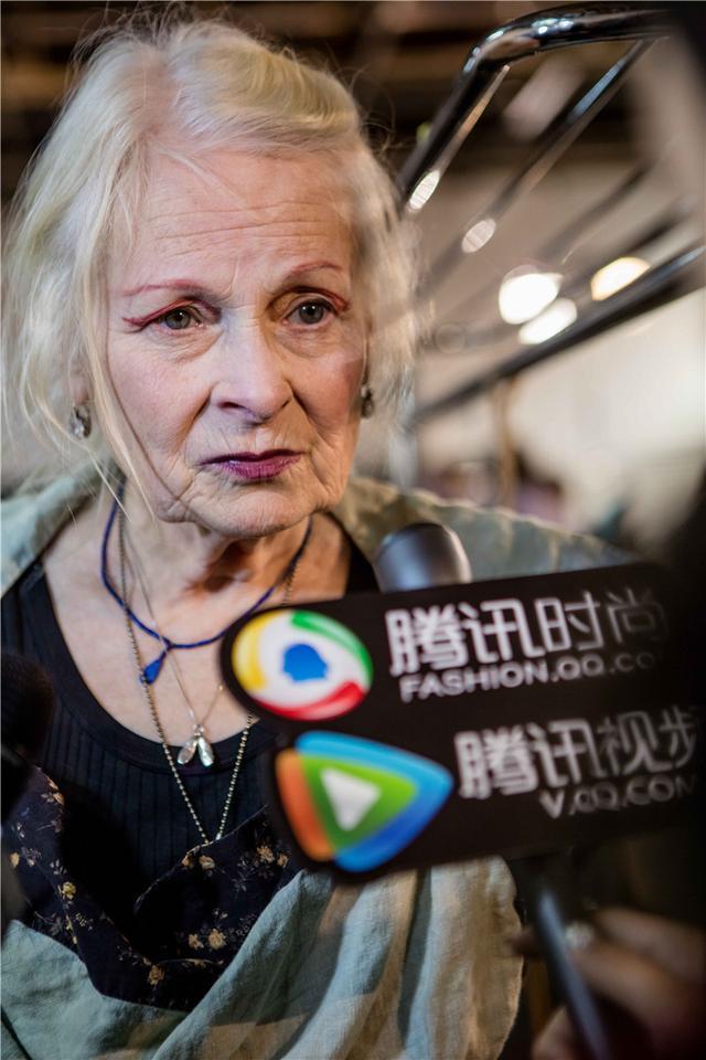 Vivienne Westwood独家专访:希望人们少买垃圾服装(图1)