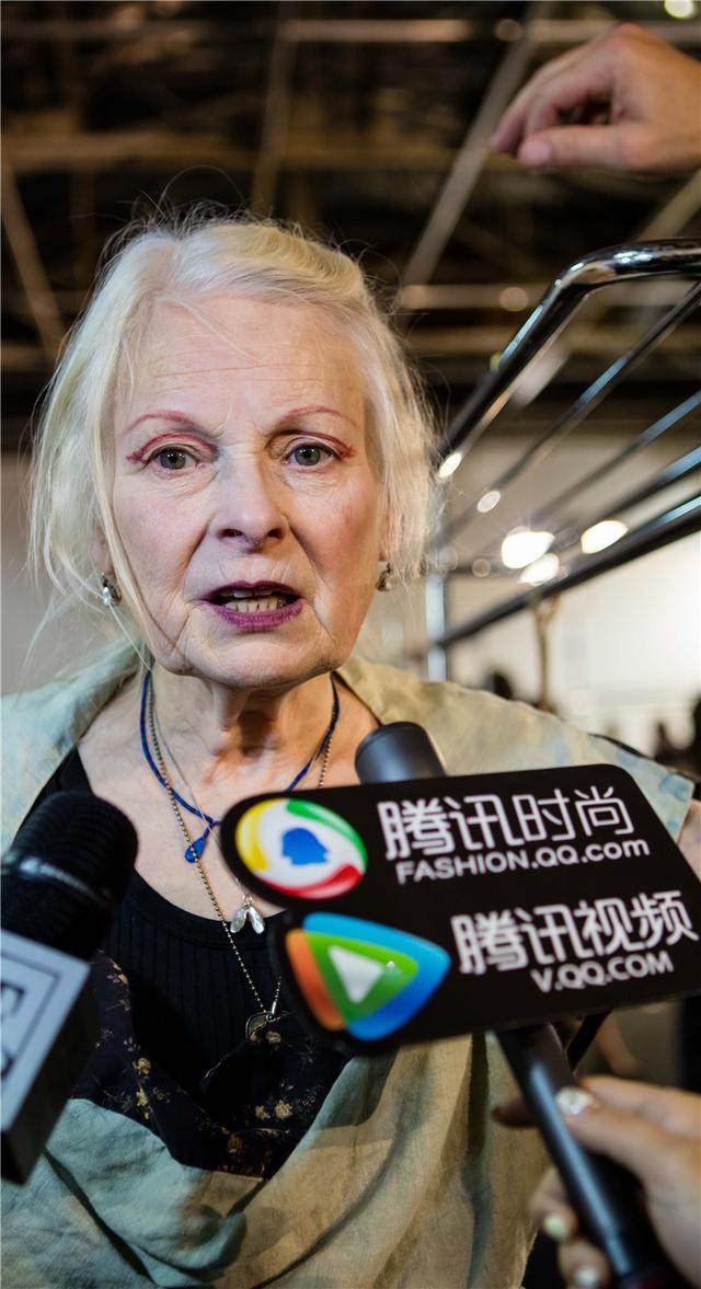Vivienne Westwood独家专访:希望人们少买垃圾服装(图5)