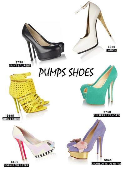 5 Kiểu giầy hè 2013 mà bạn nên có trong tủ giầy của mình