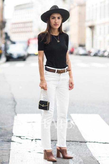 50种方式把裤子穿得潇洒时髦!