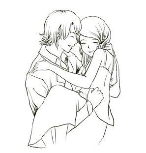 简单手绘爱情小图案