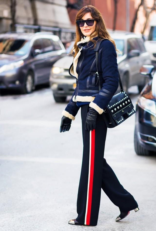 时髦归时髦 阔腿裤穿不好其实很显胖