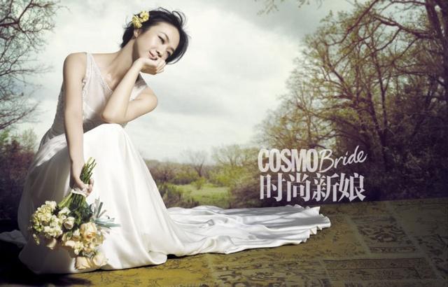 女神变媳妇 汤唯也穿Vera Wang出嫁啦